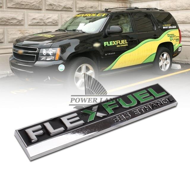 Us 648 7 Off3d Metall Flexfuel E85 Ethanol Auto Styling Emblem Aufkleber Abzeichen Aufkleber Für Ford Focus 2 Fiesta Kuga Ranger Mondeo Mk4