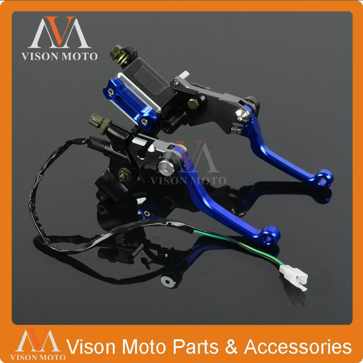 CNC Brake Lever Master Cylinder + Cable Clutch Perch For Yamaha YZ125 YZ250 YZ250F YZ426F YZF450F YZ250FX YZ YZF MX Enduro fxcnc universal stunt clutch easy pull cable system motorcycles motocross for yamaha yz250 125 yz80 yz450fx wr250f wr426f wr450