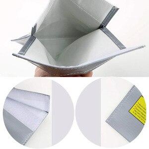 Image 3 - 1 pièces 30x23 cm RC LiPo li po batterie de sécurité ignifuge sac Case de sécurité garde sac de Charge chaud dans le monde entier