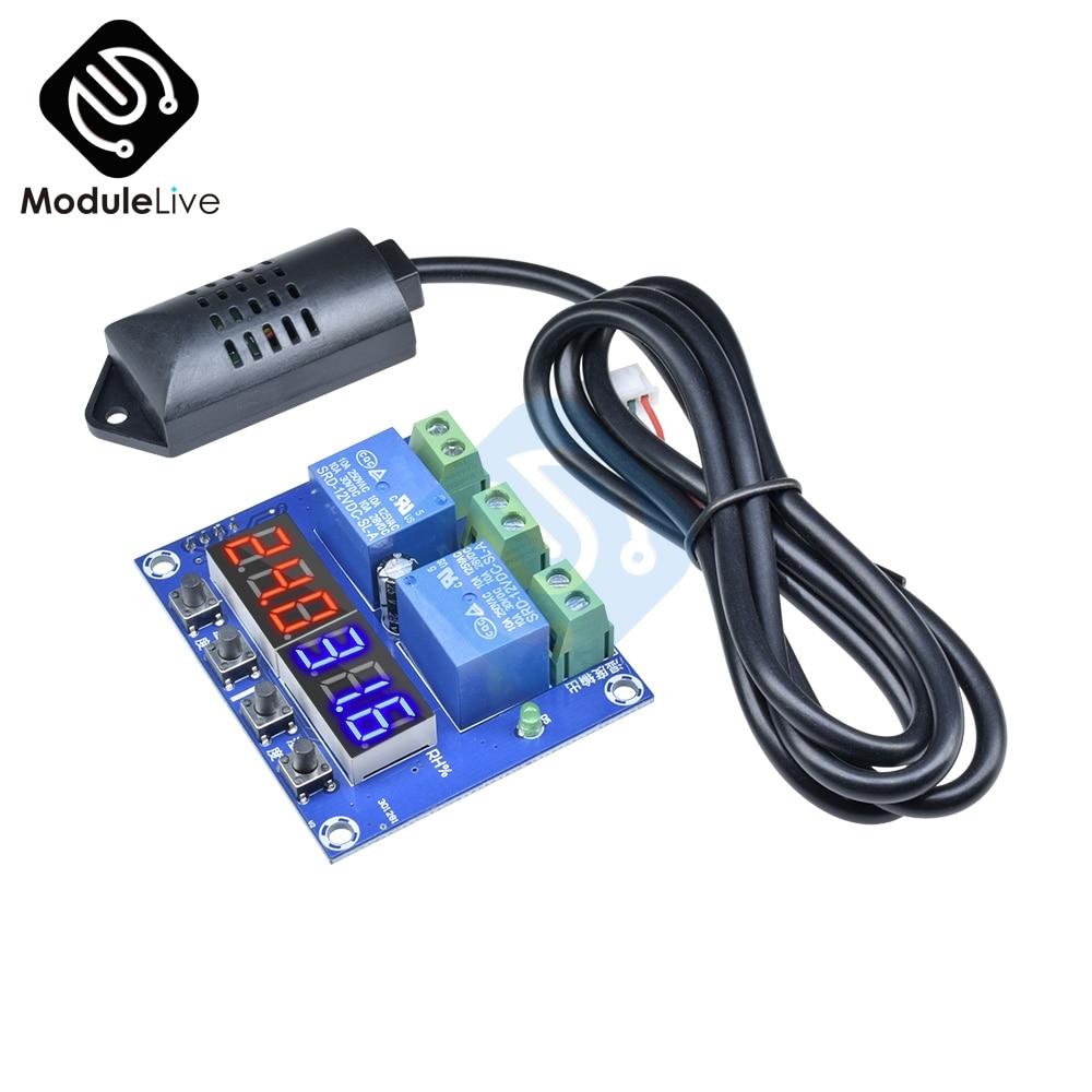 Mini 50-110°C W1209 Digital thermostat Temperature Control Switch 12V sensor HU