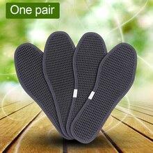 وسادة الخيزران الفحم الرياضية القدم مضاد للجراثيم للجنسين تنفس منصات حذاء الحرير الجليد النعال الرعاية في الهواء الطلق مزيل العرق الجاف التنزه
