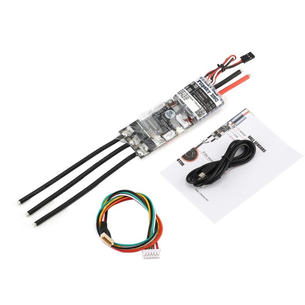 HGLRC FLIPSKY FSESC 50A V4.12 ESC Contrôle Électronique de la Vitesse pour Planche À Roulettes Électrique RC Voiture Bateau E-vélo E- scooter Robot
