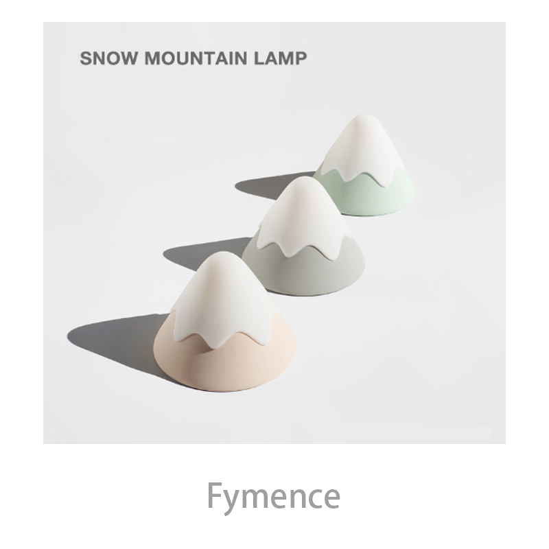 LED Snow Mountain Light Night Table Lamps Lights fit for Gift Lamp Bedroom Living Room Decor Desk Childrens Room Bedside Lamp remote control led light creative monje smart air purifier wireless night lights sensor lamps gift table desk lamp