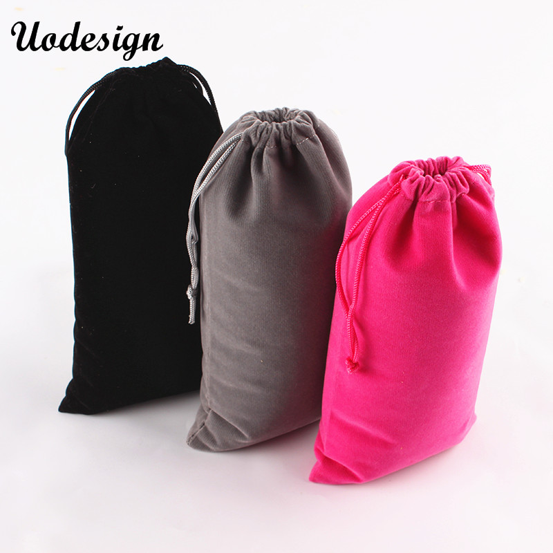 10PCS Jewelry Bag 10*20cm Wedding Gift Organza bag Jewelry Packaging Display & Jewelry Pouches