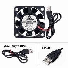 GDT 4010S 40mm x 10mm Computer USB CPU Case 5V DC Cooling Fan