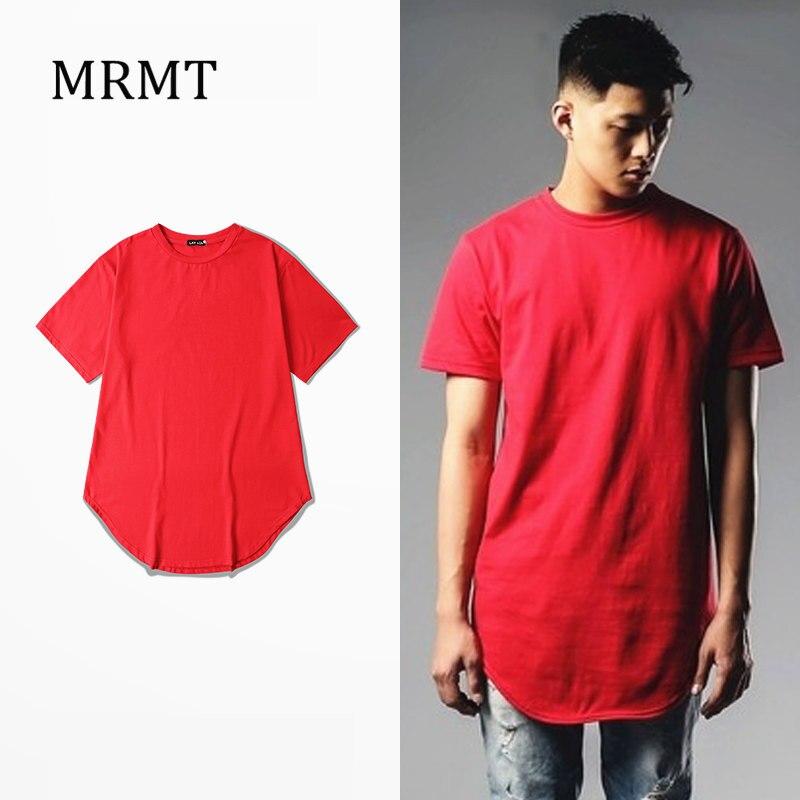 2019new MRMT Solid grounding arc plain hem East Gate lengthen short sleeved T-shirt man TEE ADYN high street and