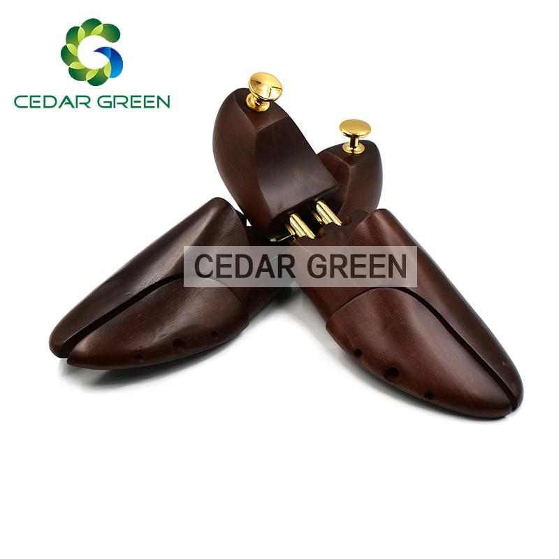 Men's And Women's Twin Tube Adjustable Red Cedar Wood Shoe Tree