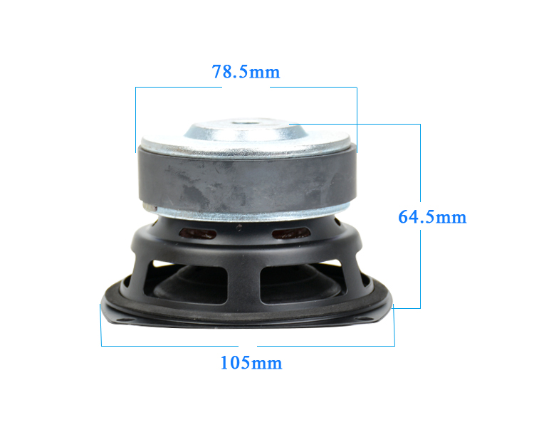 AIYIMA 1 шт., 4 дюйма, сабвуфер, динамик, HIFI 4, 8 Ом, 100 Вт, низкочастотный динамик, громкоговоритель с глубоким басом, громкоговоритель, большой магнитный