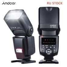 Andoer AD-560 II Camera Flash Speedlite With Adjustable LED Fill Light Universal Flash for Canon Nikon Olympus Pentax Cameras