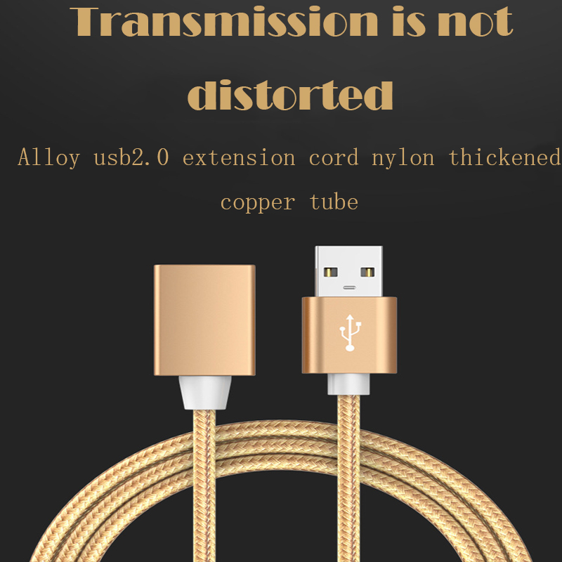 Image 5 - 60cm USB 2.0 Female To A Male Extension Cable Cord PC Keyboard Printer Camera Mouse Game Controller Data Sync Transfer-in Computer Cables & Connectors from Computer & Office
