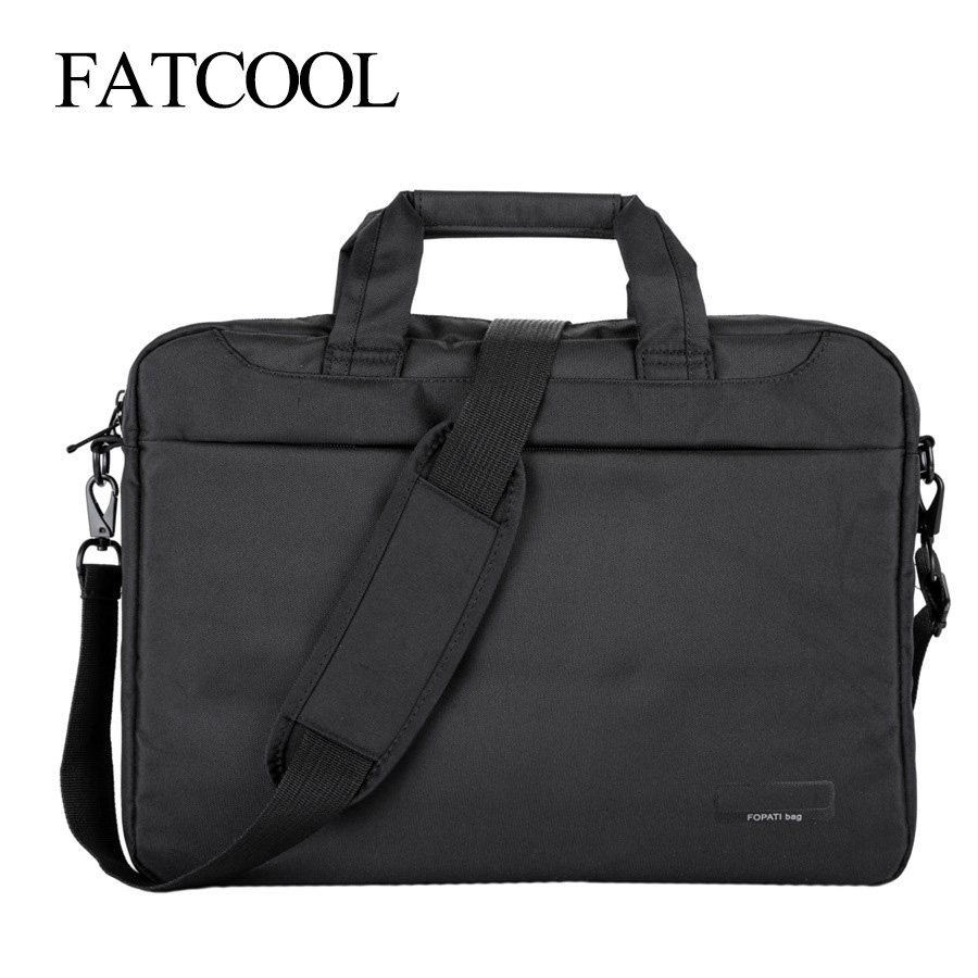 Laptop Bag 17.3 17 15.6 14 Inch Nylon Airbag Shoulder Handbag Computer Bags Waterproof Messenger Women Men  Notebook Bag