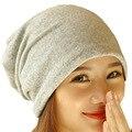 Женская одноцветная серая, черная, шапка бини, круглая шапка, головные уборы унисекс для мужчин и женщин для горнолыжного спорта, зимняя хлопковая вязаная шапка в стиле хип хоп