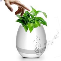 Smart Bluetooth Music Speaker Wireless Light Touch Plant Can Sing Several Songs Portable MP3 Player For