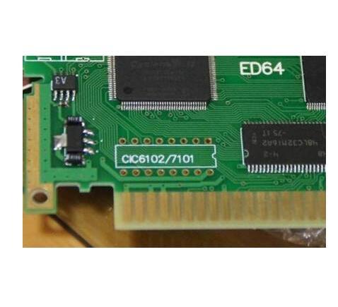 UltraCIC II(ATtiny25) PAL NUS 7101 NTSC NUS 6102 CIC Chip