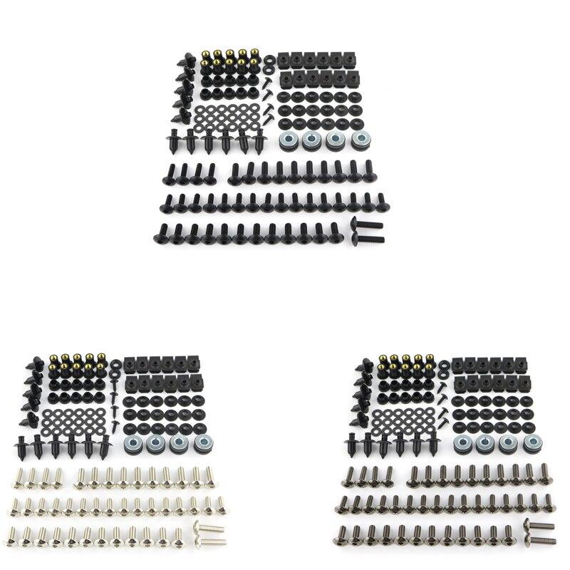 Complete Washer Fastener Full Fairing Bolts Screws Kit