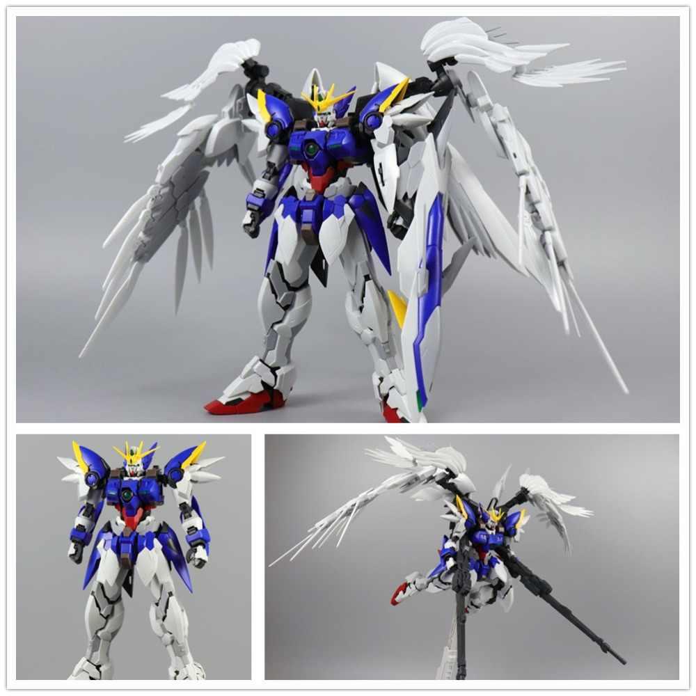 Mjh M J H Dm Model 1 100 Mg Hirm Xxxg 00w0 Wing Gundam Zero Dm014 Action Figures Aliexpress