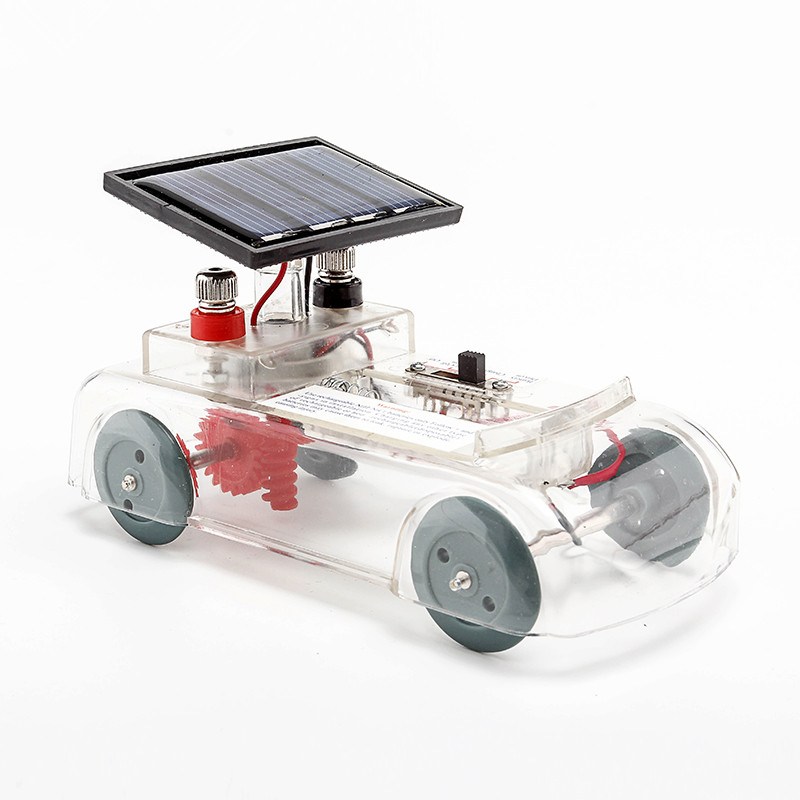 solar car solar panel power supply multifunctional car kids early teaching equipment toy school physics teaching