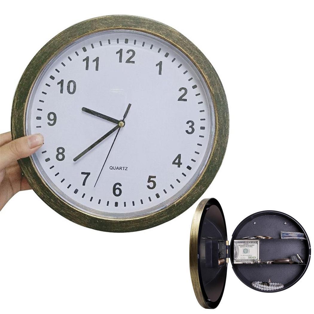 Hidden Safe Clock   Stash Box Money  3