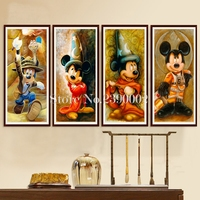 5D Diy Diamond Painting Mickey Mouse Cross Stitch Home Decor Crystal Full Diamond Mosaic Decoration Diamond