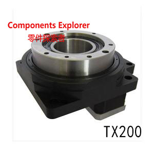 TX series Stepper Motorized Hollow Rotary Table Installation size 200 Suitable for Nema34 stepper motor цены