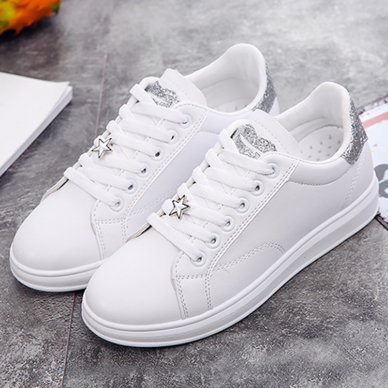Women sneakers casual shoes fashion bling trainers 2018 new arrival hite shoes Lips wedges sneakers chaussure femme