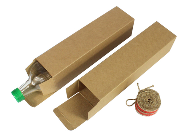 Aliexpress.com : Buy 7*7*28cm Custom Kraft paper box/Rectangular ...