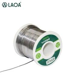 LAOA 63% القصدير المحتوى 0.8-2.3 مللي متر الصنوبري لحام الأسلاك ، 400g أسلاك اللحام ، لحام Asistant القصدير الأسلاك
