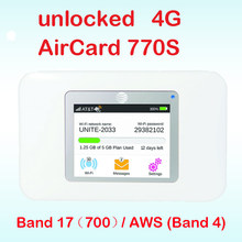 Mở khóa netger 4G 150Mbps Sierra Wireless AirCard 770S 4G LTE Di Động Kích Sóng Wifi Dongle 4G Pocket Wifi ac770s(China)