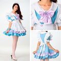 Anime Girl Cosplay Lolita Maid Costume Uniform Princess Dress Performance Wear