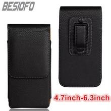 Vertical Phone Cover With Belt Clip Waist Pouch Holster Bag Leather Etui Case For Samsung Galaxy J1 J2 J3 J4 J5 J6 J7 J8 2017 J9