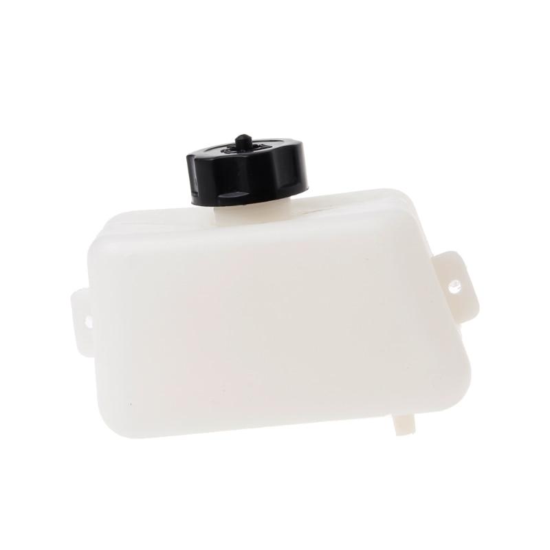 1l White Body Black Cap Plastic Motorcycle Petrol Fuel Tank For Mini Moto Pit Dirt Bike Dirtbikes Filter