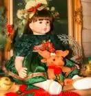 Bebes Кукла реборн 22 дюйма Новое поступление Виктории укоренившиеся коричневые волосы мальчик реалистичный ребенок ручной работы полный Сил... - 1