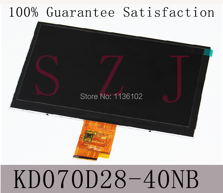 (Ref: KD070D28-40NB) for HP 7J Tablet PC LCD screen 7 inch high-definition display Free shipping