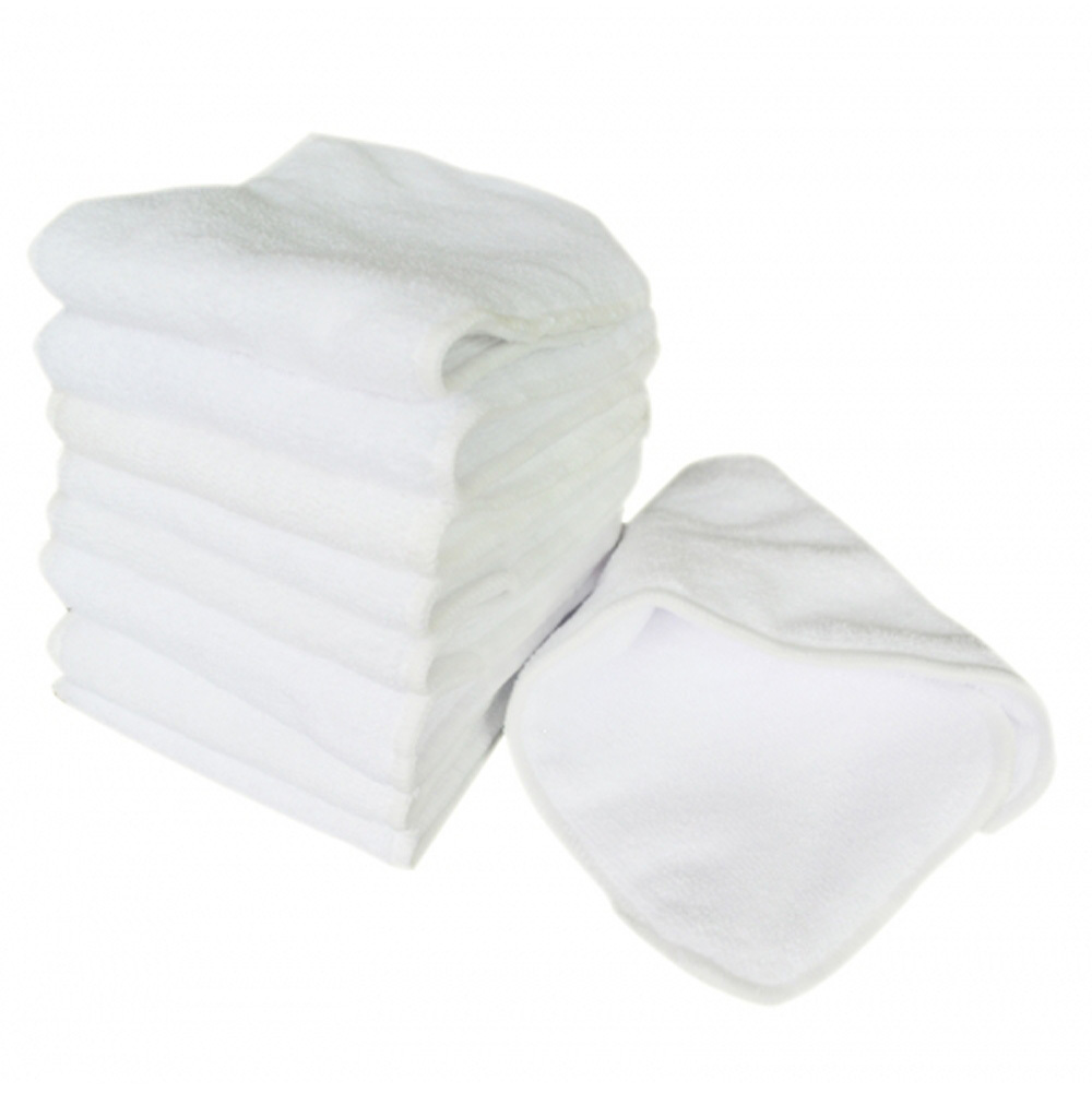 Reusable baby Diapers Cloth Diaper Inserts 10 piece microfiber Washable Baby Care Products Free Shipping