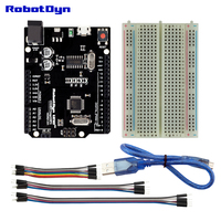 Uno R3 Minimal KIT Compatible For Arduino Uno R3 KIT Projects With Breadboard And Jumper Wires