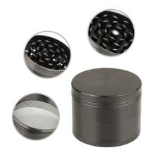 19f147089 (Ship from US) New Design 4-layer Aluminum Herbal Herb Tobacco Grinder  Smoke Grinders Cachimbo Tobacco Accessories Grinder Weed Metal 40MM