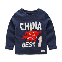European And American Style Children's Clothing Full sleeve Kids T-shirts 2016 Spring Fall Cotton Handsome Soft Tees