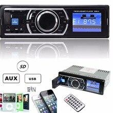 50 W x 4CH Auto Radio Stereo 12 V Audio In-Dash Aux del Ricevitore di Ingresso con SD USB MP3 FM Lettore