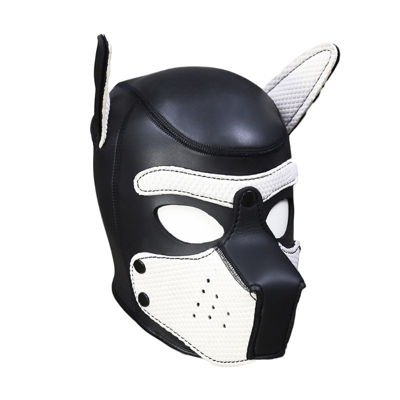 5 Colors Sex Toys Mask Rubber Sexy Cosplay Role Play Dog Full Head Adult Games SM Masks For Couples5 Colors Sex Toys Mask Rubber Sexy Cosplay Role Play Dog Full Head Adult Games SM Masks For Couples