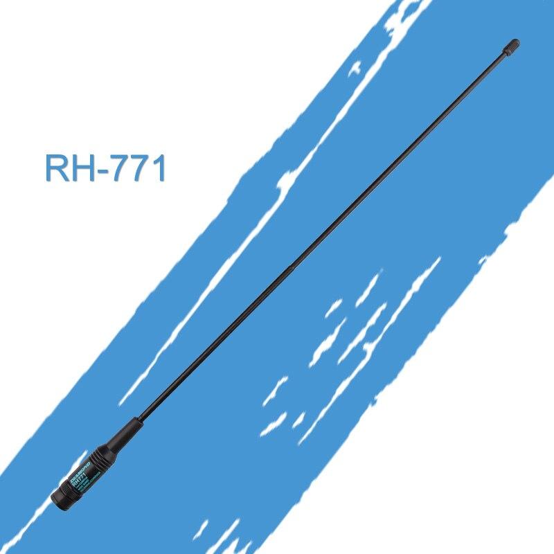 General Diamond RH-771 Dual Band Walkie Talkie Baofeng Antenna For Handheld Radio Baofeng UV-5R UV-82 BF-888S VHF/UHF SMA-F/M