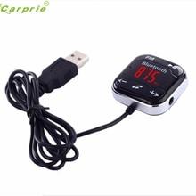 CARPRIE Car Kit Bluetooth Manos Libres Transmisor FM Reproductor de MP3 USB SD LCD Remoto Jul.13