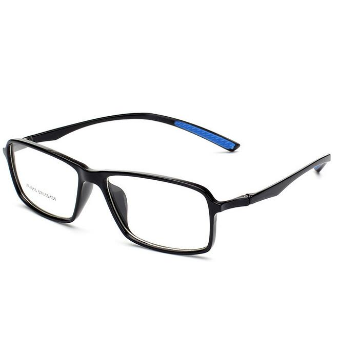 Male Big Oversized Square Optical TR90 Clear Glasses Frame Men Ultra Light Soft Myopia Reading Eyewear occhiali da vista uomo