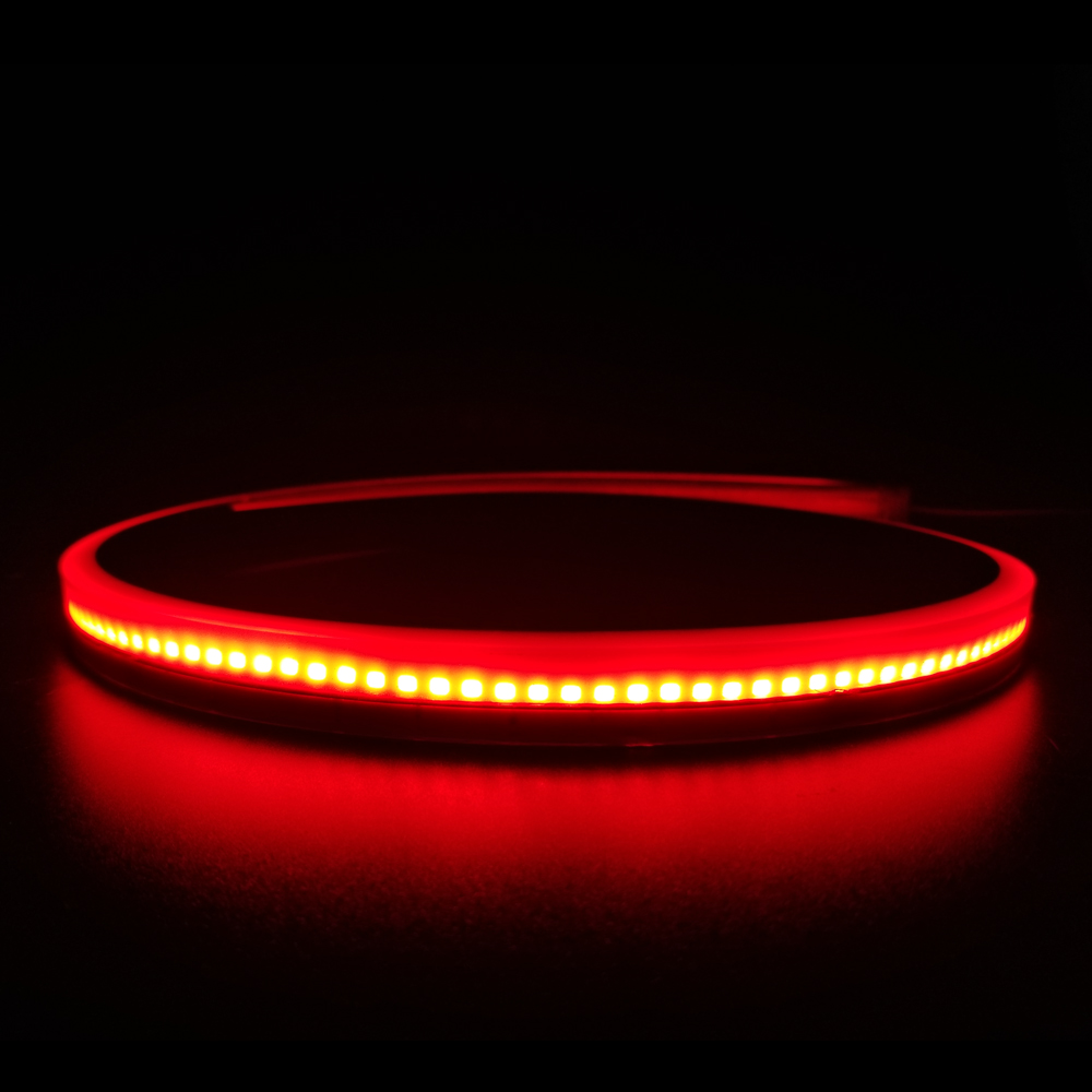 90cm Flexible Car LED Light Auto High Mount Stop Third Brake Lamp Rear Tail Warning Lights for Peugeot 407 Universal DRL in Car Light Assembly from Automobiles Motorcycles