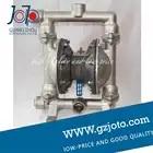 Joto merk 304 roestvrij staal Natuurlijke kleur rvs membraanpomp met F46 membraan - 1
