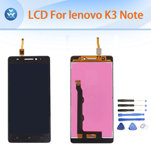 AAA LCD For Lenovo K3 Note LCD display+touch screen digitizer assembly K50 5.5 inch black pantalla phone parts repair+tools
