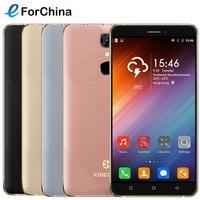 Kingzone s20 smartphone android 6.0 os 5.5 pouce écran mtk6580a quad Core 1.3 GHz ROM 16 GB RAM 1 GB Double SIM Métal Cadre 3000 mAh