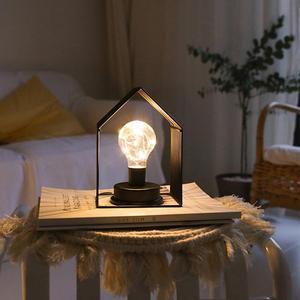 SOL светодиодный Светодиодный Ночной светильник в форме дома для украшения спальни