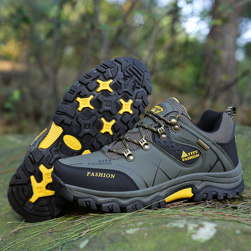 Mens Hiking Shoes Male Outdoor Shoes Hiking Antiskid Breathable Trekking Shoes Hunting Tourism Mountain Sneakers Boots Size 46Mens Hiking Shoes Male Outdoor Shoes Hiking Antiskid Breathable Trekking Shoes Hunting Tourism Mountain Sneakers Boots Size 46