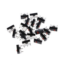 10PCs Button Switch Mouse Switch 3Pin Microswitch For RAZER Logitech G700 Mouse(China)