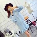 Coreano dress vestido de chiffon de roupas para mulheres grávidas vestido de maternidade gravida gravidez maternidade dress wear 502175
